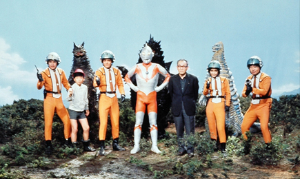 Ultraman group photo